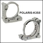Polaris<sup>®</sup> Ø3in Kinematic Mirror Mount, 3 Adjusters