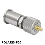 Piezoelectric Actuator with Bushing, 3/8in Travel