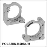 Polaris<sup>®</sup>Ø50 mm Kinematic Mirror Mount, 2 Adjusters