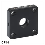 Standard Cage Plate for Ø1/2in Optics