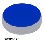 Shortpass Dichroic Mirrors/Beamsplitters: 505 nm Cutoff Wavelength