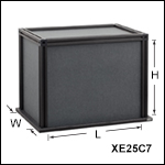 Black Hardboard Enclosures