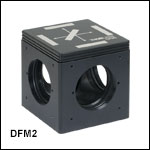 60 mm Cage-Compatible, Kinematic Fluorescence Filter Cubes