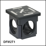 60 mm Cage-Compatible, Kinematic Fluorescence Filter Cube Tops and Bottoms