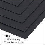 Black Posterboard