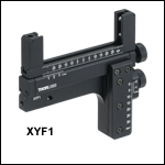 XY Translation Mount for Rectangular Optics
