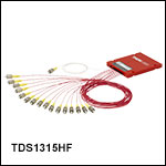 1310 / 1550 nm 1x16 Dual-Window Fiber OpticSplitters
