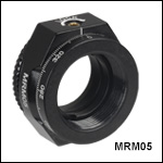 Mini-Series Continuous Rotation Mount for Ø1/2in Optics