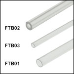 Fluorine-Doped Fused Silica Capillary Tubes