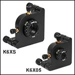 6-Axis Kinematic Optic Mounts