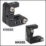 Kinematic Mounts for 1/2in Tall Rectangular Optics