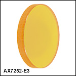 ZnSe Axicons (AR Coated: 7 µm - 12 µm)