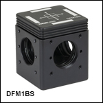 30 mm Cage-Compatible, Kinematic Beamsplitter Cube