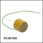 Round 150 V Piezoelectric Actuator