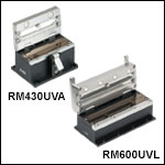 Mold Assemblies - One Required for Manual Fiber Recoaters