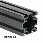 50 mm Square Construction Rails