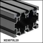 50 mm x 75 mm Construction Rails