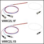 Wideband Multimode Circulators: Ø105 µm Core, 0.15 NA to Ø200 µm Core,0.22 NA