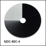 Unmounted Round Variable ND Filters, Uncoated