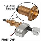10 mm Travel Vacuum-Compatible Piezo Inertia Actuator