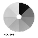 Round Step ND Filters, Unmounted