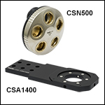Cerna® Microscope Objective Turrets, Five Ports