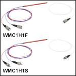 Wideband Multimode Circulators: Ø50 µm Core, 0.22 NAto Ø105 µm Core, 0.22 NA
