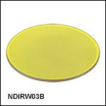 Ø25 mm Wedged IR Reflective ND Filters<br>