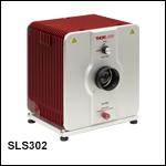 High-Power Stabilized Quartz Tungsten-Halogen Source: 360 - 2500 nm