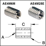 Thread Adapters - Internal to External Threaded Stud