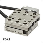 20 mm Linear Stage with Piezoelectric Inertia Drive and Optical Encoder