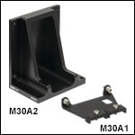 Vertical Mounting Adapter and Cable Clamp