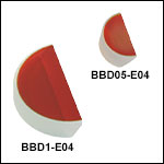 E04 Broadband Dielectric D-Shaped Mirrors (1280 - 1600 nm)