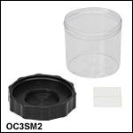 Large-Diameter Microscope Objective Cases