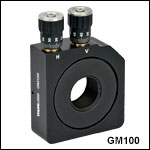 Gimbal Mirror Mounts for Ø1in or Ø2in Optics