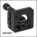 Ø1in Kinematic Mount with SM1 Threads