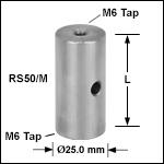 Ø25.0 mm Pillar Posts with M6 Taps