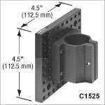 Ø1.5in Post Large Mounting Clamp