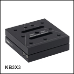 Kinematic Base: 3in x 3in (75 mm x 75 mm)