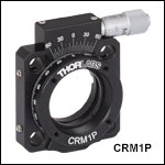 Precision Cage Rotation Mount, Ø1in (Ø25.4 mm) or Ø25 mm Optics