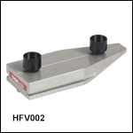 Flexure Stage Accessories: Tapered V-Groove Fiber Holder