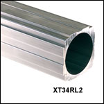 XT34 34 mm Construction Rail, Raw Extrusion
