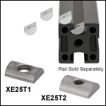 Drop-In T-Nuts for XE Series Rails
