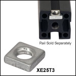 Low-Profile T-Nuts for XE and XT66 Series Rails