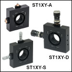 5 mm Travel XY Translation Mounts