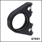 Drop-In 30 mm Cage Mount with Swing Latches