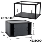 Enclosures with Door Assemblies