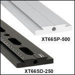 XT66 66 mm Single Dovetail Rails