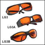 Laser Safety Glasses: 48% Visible Light Transmission