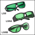 Laser Safety Glasses: 35% Visible Light Transmission